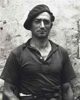 Paul Strand-Portrait of Louis Gondeville, France-1951