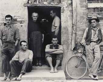 Paul Strand-The Family, Luzzara, Italy-1953
