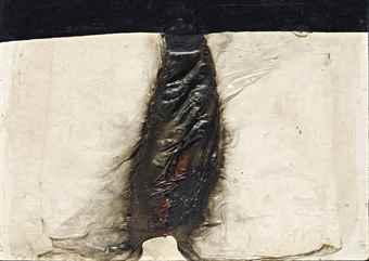 Alberto Burri-Combustione (Combustion)-1964