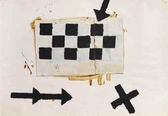 Jannis Kounellis-Senza titolo (Untitled)-1961