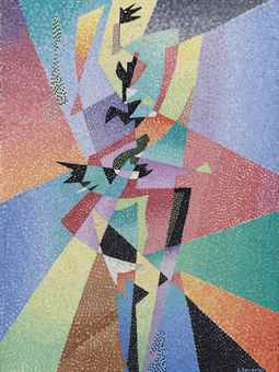 Gino Severini-Danseuse dans la lumiere (Dancer in the light)-1958