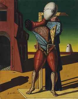 Giorgio de Chirico-Trovatore (Troubadour)-1950