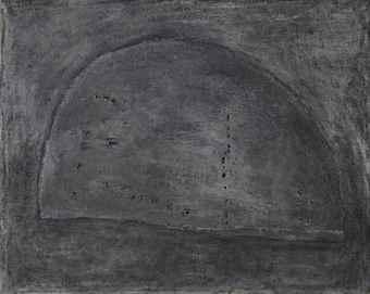 Lucio Fontana-Concetto spaziale (Spatial concept)-1957
