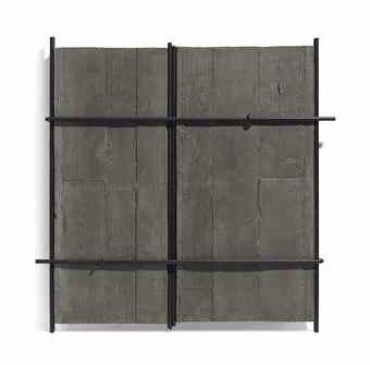 Giuseppe Uncini-Muri di cemento (Concrete Walls)-2003