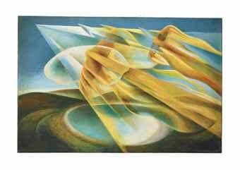 Roberto Marcello Iras Baldessari-Velocita sul lago (Velocity on the lake)-1933
