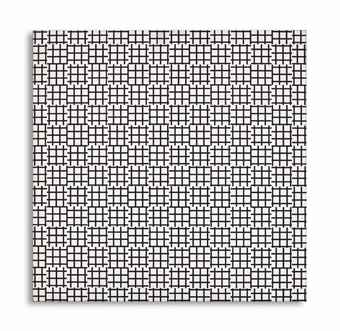 Francois Morellet-2 Trames de Tiret 0° 90° (Two Warps and Wefts of Short Lines 0°-90°)-1972