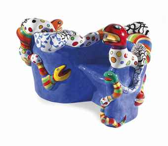 Niki de Saint Phalle-Le Banc (The Bench)-1991