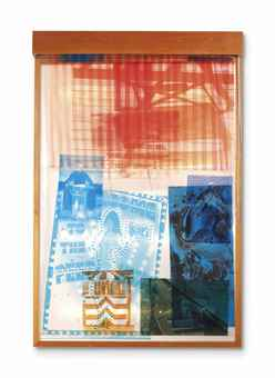 Robert Rauschenberg-Sling-Shots Lit #8-1985
