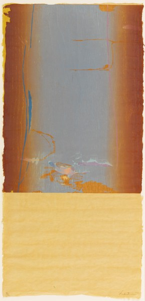 Helen Frankenthaler-Essence Mulberry (Harrison 57)-1977