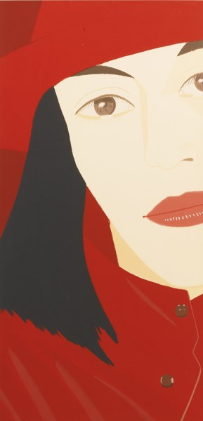 Alex Katz-Red Coat-1983