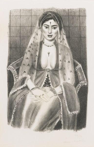 Henri Matisse-La Persane (D. 507)-1929