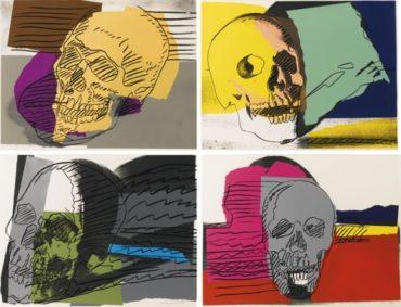 Andy Warhol-Skulls (F. & S. II.157-160)-1976