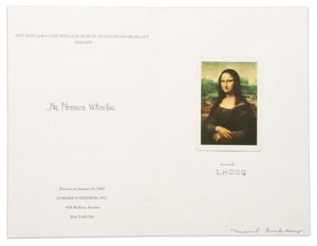 Marcel Duchamp-L.H.O.O.Q. Shaved (Schwarz 615)-1965