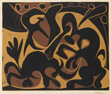 Pablo Picasso-Picador (B. 909; Ba. 1226; Pp. L-047)-1959