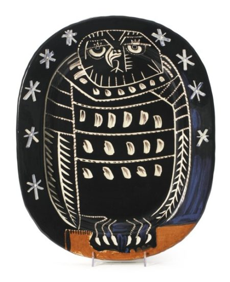 Pablo Picasso-Hibou Brillant (A. R. 285)-1955