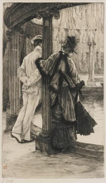 James Jacques Joseph Tissot-Querelle D'Amoreux (W. 18)-1876