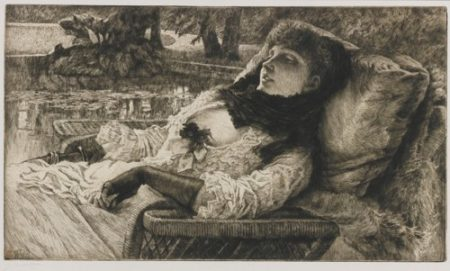 James Jacques Joseph Tissot-Soiree D'Ete (W. 56)-1882