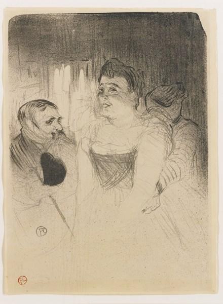 Henri de Toulouse-Lautrec-Judic (Delteil 56; Adriani 43; Wittrock 54)-1894
