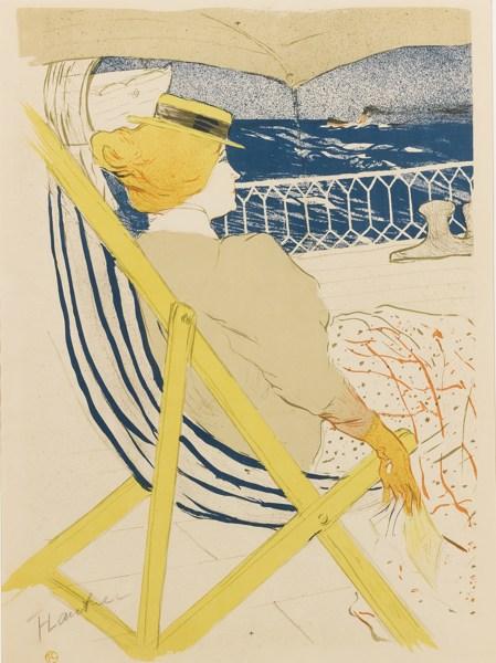 Henri de Toulouse-Lautrec-La Passagere (D. 366; Adr. 137; W. P20.II)-1896