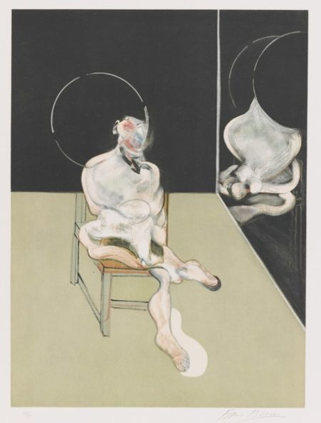 Francis Bacon-Seated Figure (Sabatier 5)-1983