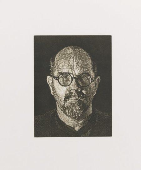 Chuck Close-Self-Portrait-1997