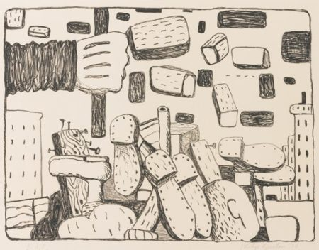 Philip Guston-The Street-1970