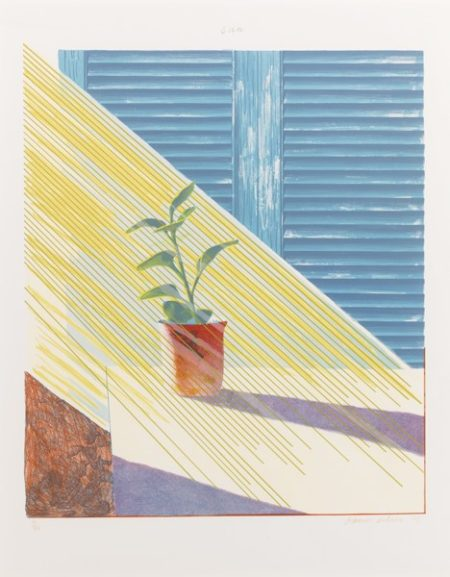 David Hockney-Sun State I (Scottish Arts Council 130)-1973
