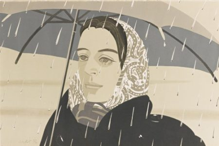 Alex Katz-Gray Umbrella (M. 122)-1980