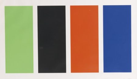 Ellsworth Kelly-Four Panels (Axsom 72)-1971
