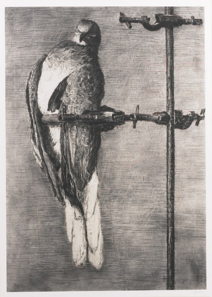 William Kentridge-Bird Catcher-2006