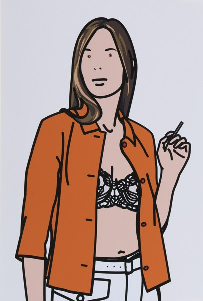 Julian Opie-Twenty Six Portraits-2006