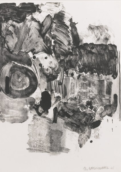 Robert Rauschenberg-Visitation II (Foster 30)-1965