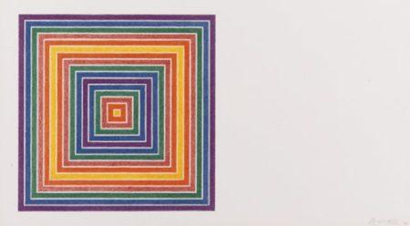 Frank Stella-Honduras Lottery Co. (Axsom 76)-1972