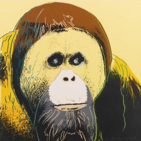 Andy Warhol-Orangutan (F. & S. II.299)-1983