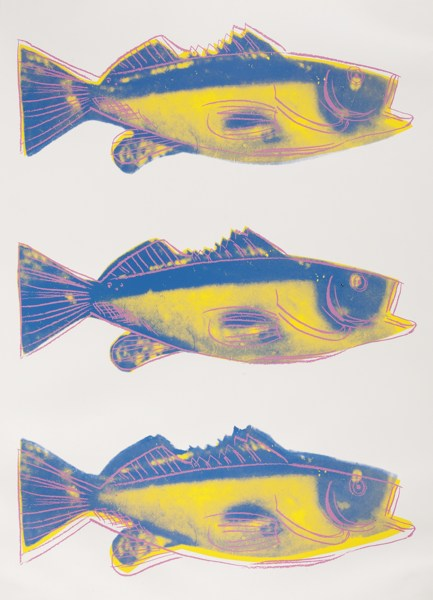 Andy Warhol-Fish (F. & S. IIIa.41)-1983
