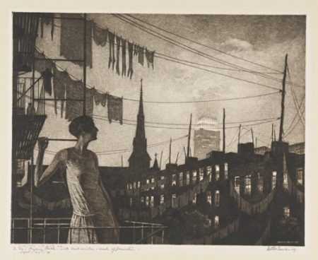 Martin Lewis-Glow Of The City (Mccarron 77)-1929