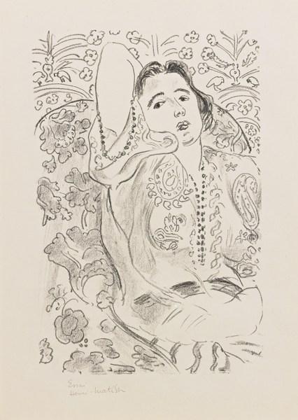 Henri Matisse-Arabesque (D. 449)-1924