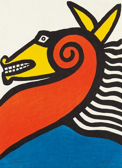 Alexander Calder-Horse-1975