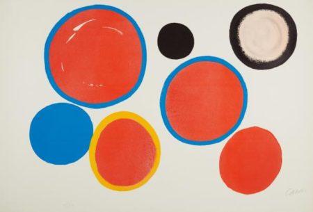 Alexander Calder-Cibles Variables-1969