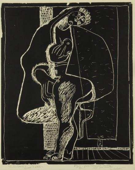 Le Corbusier-...Apparue Devant La Porte, From Petite Confidences-1957