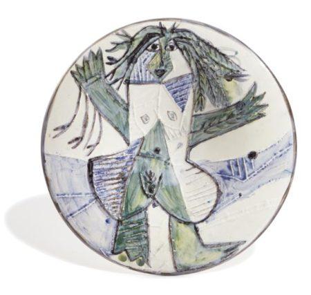Pablo Picasso-Femme Echevelee (Dishevelled Woman)-1963