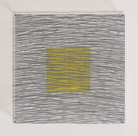 Jesus Rafael Soto-Cuadrado Y Curvas Virtuales, From Sintesis Series-1979