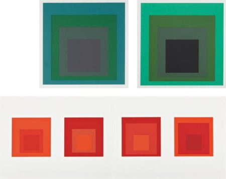 Josef Albers-Formulation Articulation I And Ii-1972