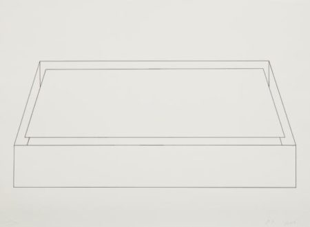 Donald Judd-Untitled, From Hommage A Picasso-1973