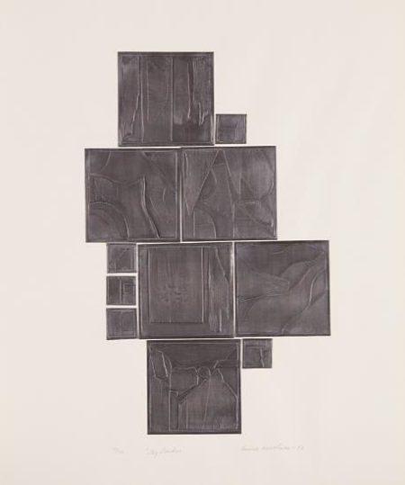 Louise Nevelson-Sky Garden-1971