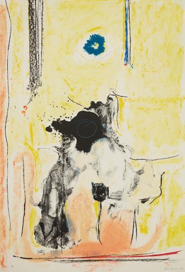 Helen Frankenthaler-Madame Le Pompadour-1990