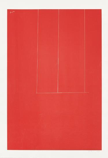 Robert Motherwell-London Series I: Untitled-1971