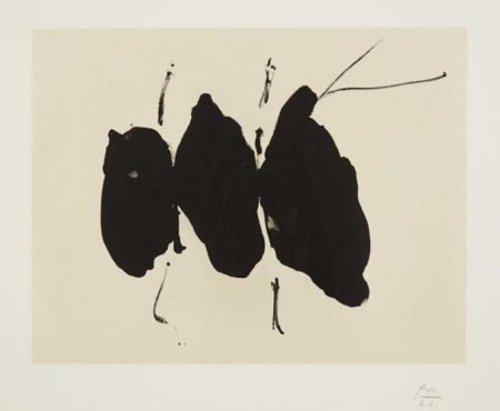 Robert Motherwell-Octavio Paz Suite: Mexican Elegy-1988