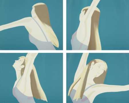 Alex Katz-Night: William Dunas Dance 1-4/Pamela-1983
