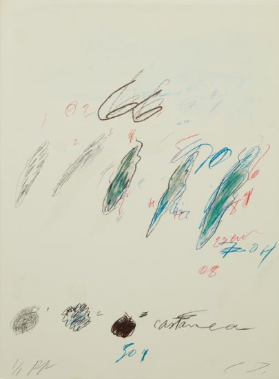 Cy Twombly-Castanea Sativa, From Natural History Part Ii Some Trees Of Italy-1976